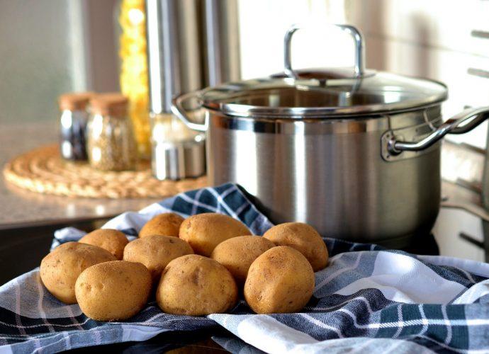 krumpli főzése, hogyan kell burrgonyát főzni