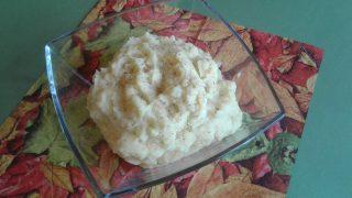 krumplipüré, burgonyapüré, gluténmentes köret