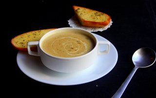 gesztenyeleves, gesztenyekrémleves, gluténmentes leves