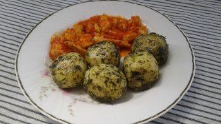 burgonyagombóc, gluténmentes receptek