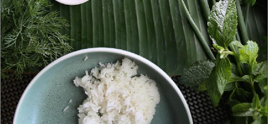 jázmin rizs, jázmin rizs főzése
