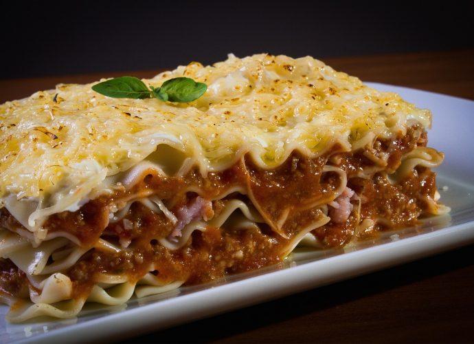 lasagne recept, lasagne tészta