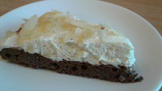 gluténmentes torta, mandulatorta, mascarponés süti