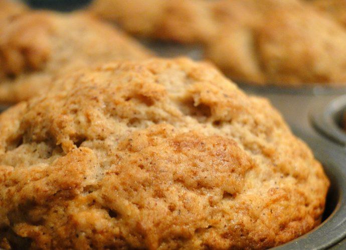 almás fahéjas muffin, gluténmentes muffin, gluténmentes sütemények