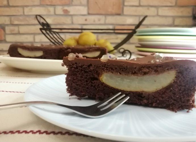 gluténmentes receptek, csokis körtetorta gluténmentesen