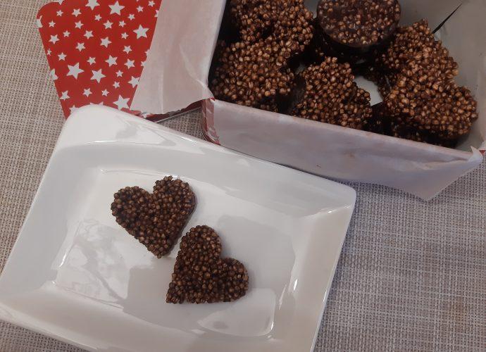 csokis puffasztott quinoa