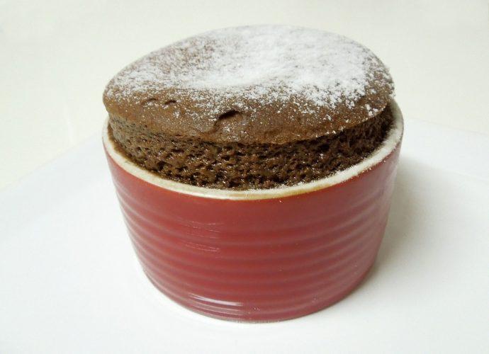 csokifelfújt, csokiszuflé