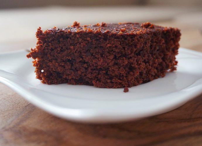 cukkinis-csokis gluténmentes kevert süti