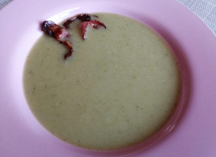 gluténmentes leves, brokkolikrémleves gluténmentesen