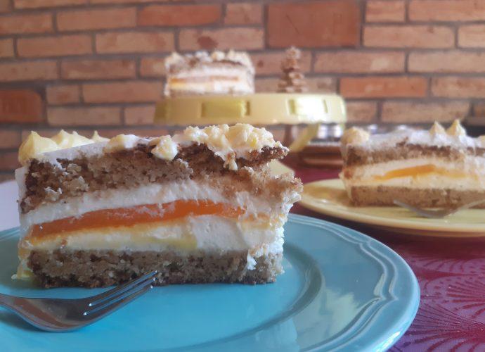fűszeres mandarintorta gluténmentes karácsonyi torta