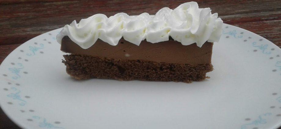 gluténmentes torta, gm csokitorta, csokimousse torta