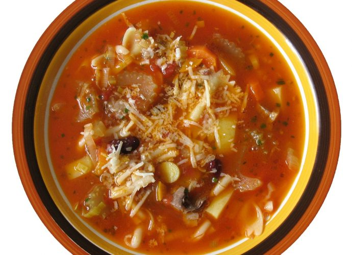 gluténmentes leves, minestrone leves