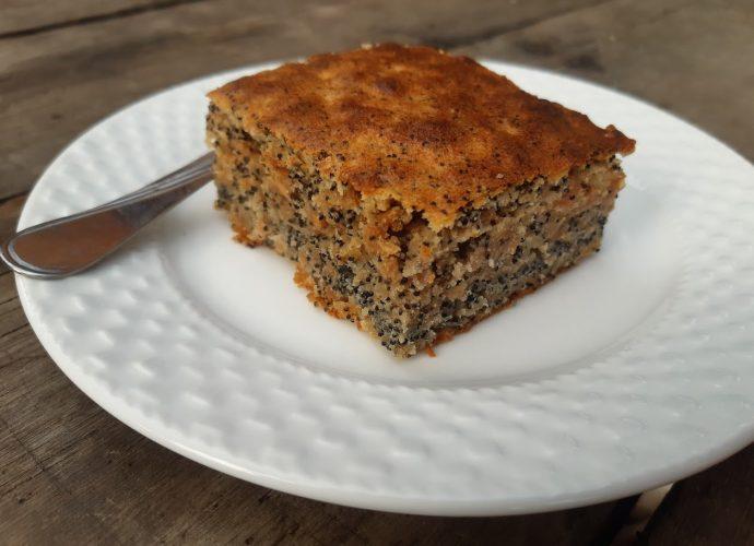 mákos-almás kevert süti free from liszttel