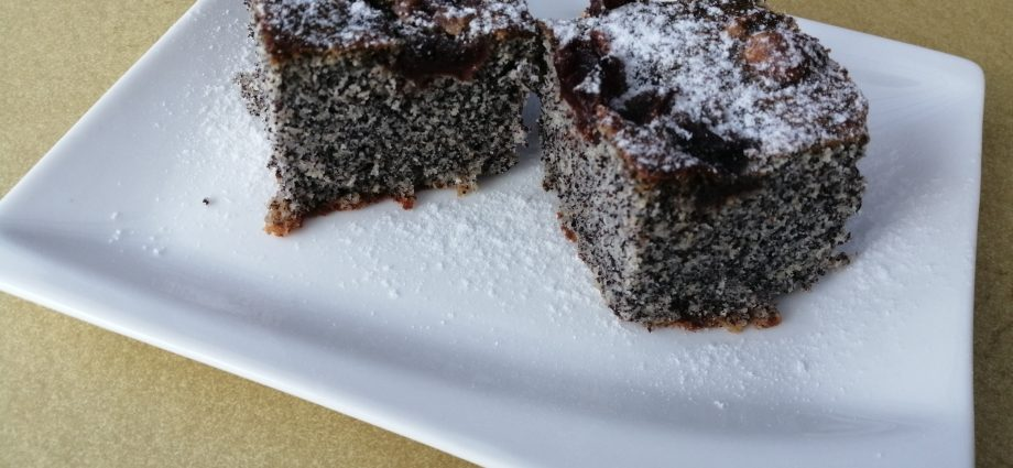 mákosgluténmentes sütemény