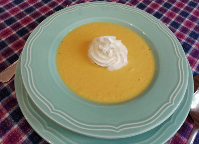gluténmentes leves, sárgadinnyés recept