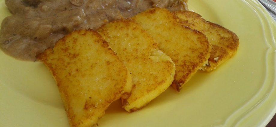 polenta recept, kukoricamálé, kukoricagánica