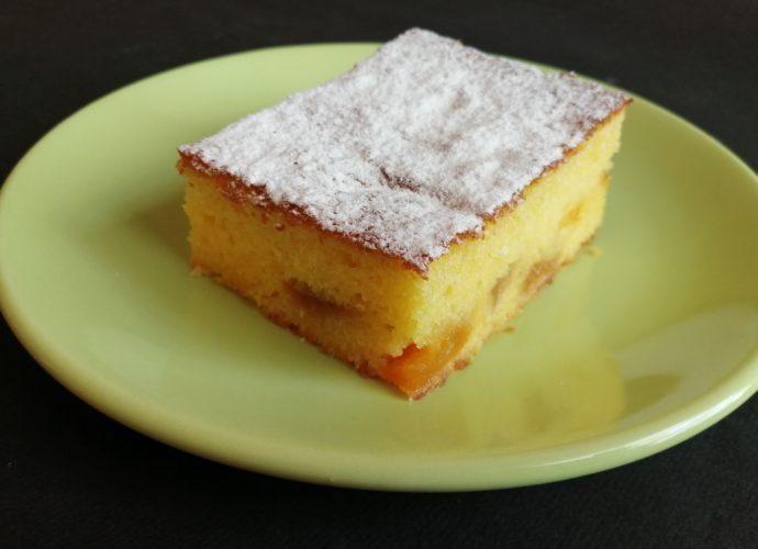 sárgabarackos gluténmentes kevert sütemény