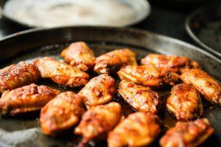 csirkeszárny recept, sült csirkeszárny