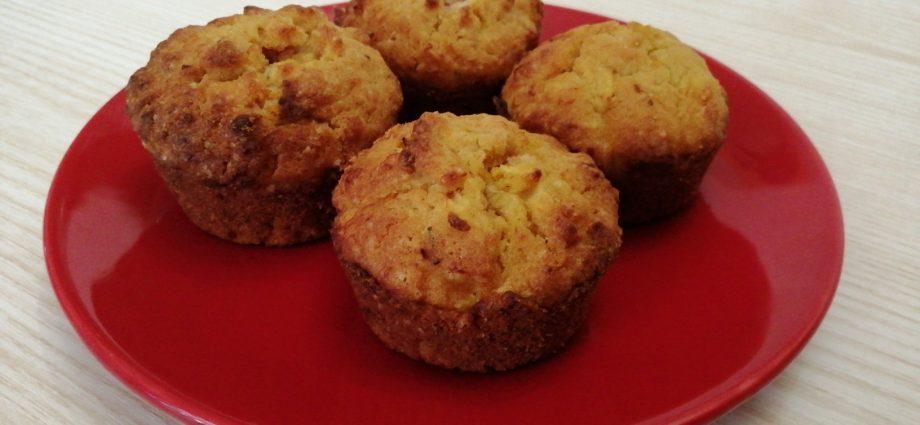 gluténmentes muffin sütőtökkel és almával