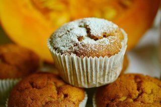 gluténmentes muffin, sütőtökös mufffin