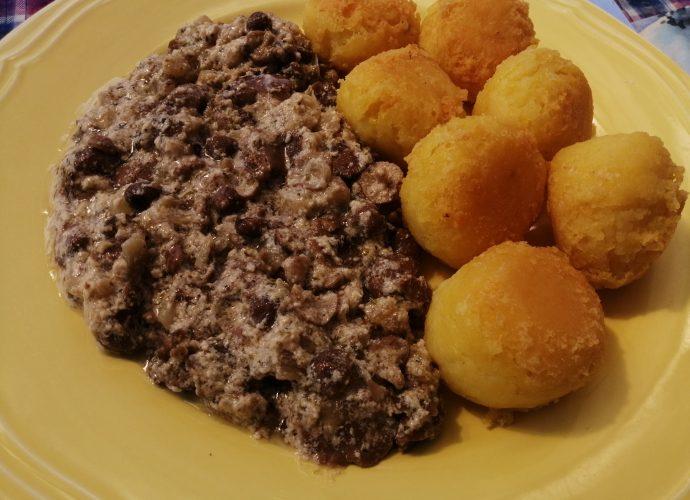 gombás gluténmentes recept, hús-és gluténmentes étel