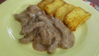 szarvashús recept, szarvascomb, recept, szarvas gombával