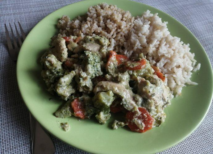gluténmentes receptek, brokkolis receptek, csirkemell receptek