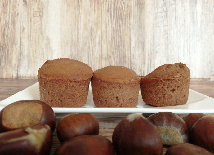 gesztenyés-csokis gluténmentes muffin