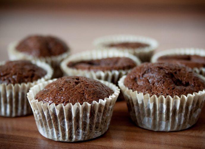 gluténmentes kakaós muffin