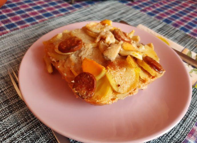 legfinomabb rakott krumpli szaftosan kolbásszal