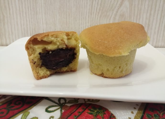 mogyorókrémes gluténmentes muffin