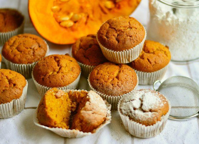 gluténmentes sütőtökös muffin