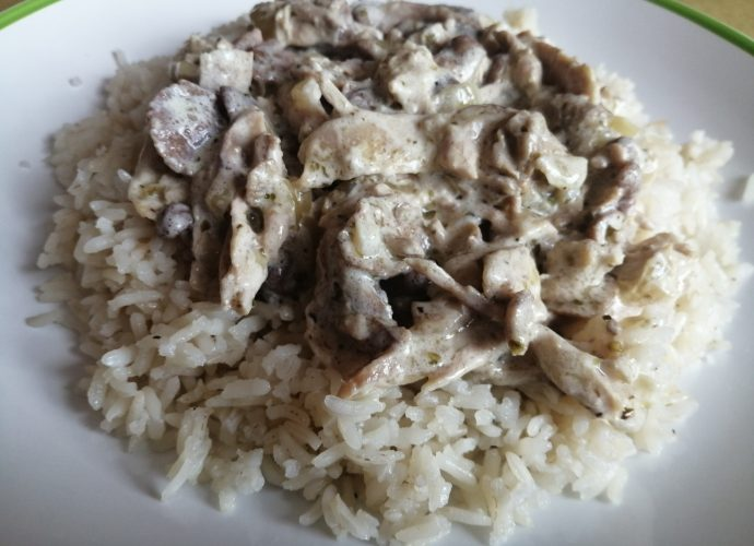 gluténmentes csirkeétel, gluténmentes ebéd